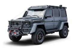brabus 550 adventure 4x4 suv off-road off-roader extreme mercedes g-class models novelties