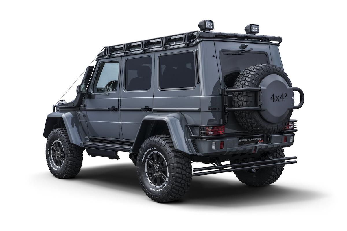 brabus 550 adventure 4x4 mercedes mercedes-benz g-klasse modelle deutschland schweiz neuheiten tuning leistungssteigerung biturbo