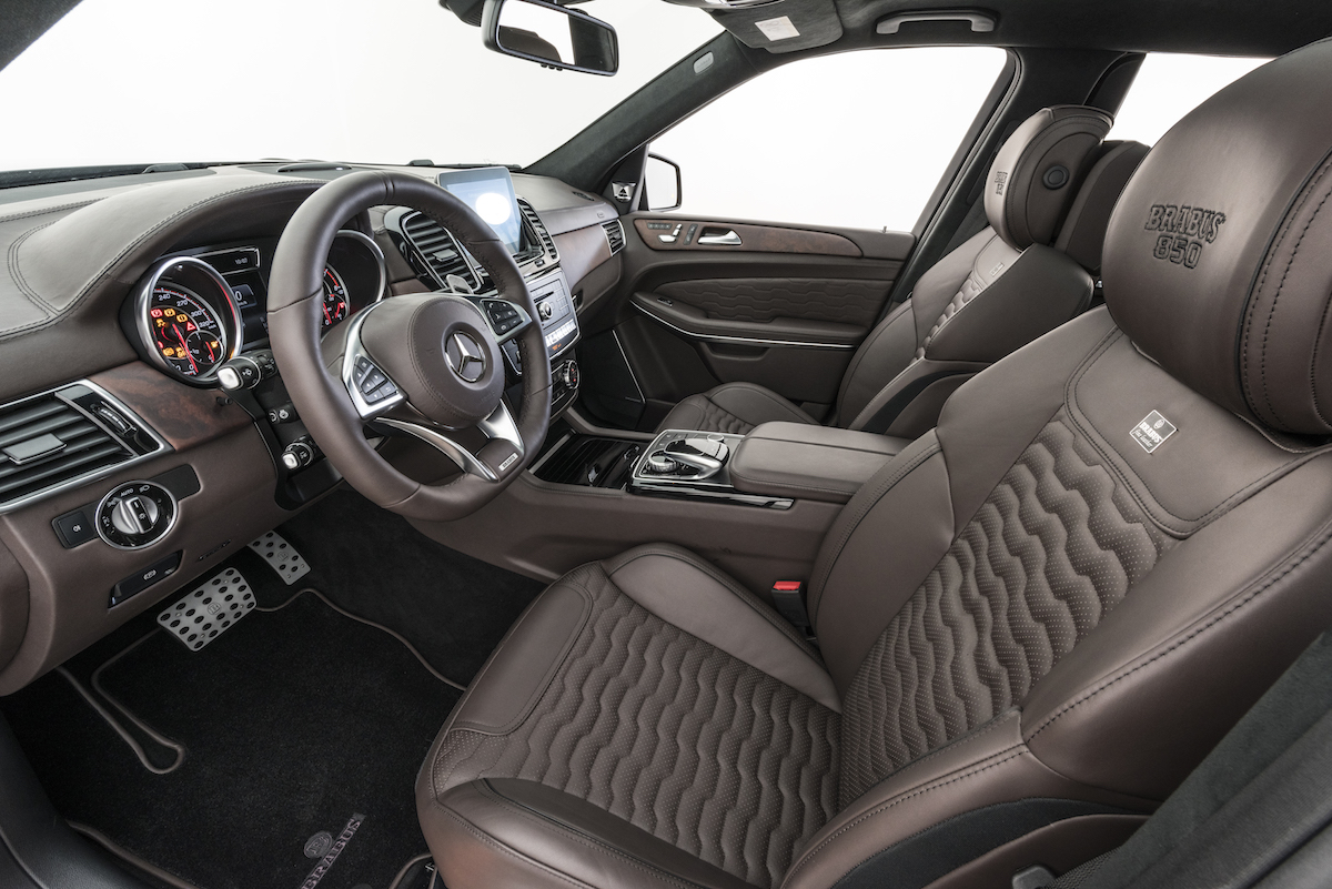 Brabus 850 Xl Widestar Based On The Mercedes Benz Gls Proudmag Com