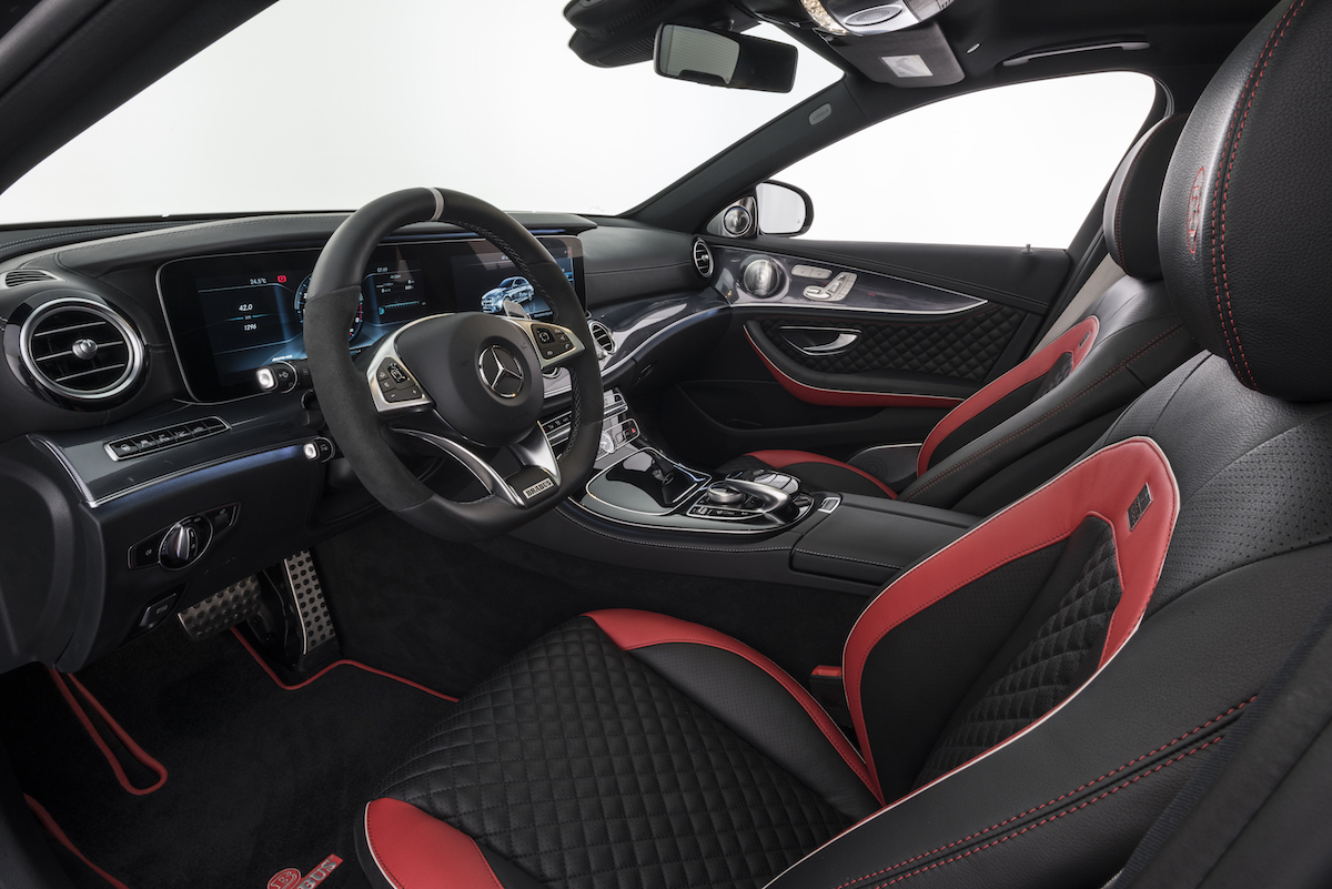 brabus 800 mercedes benz e 63 s 4matic+ performance limited enhancement aerodynamic kit interior