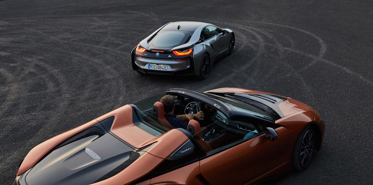 bmw i8 roadster coupe sportwagen modelle motoren leistung modelle elektro hybrid schweiz