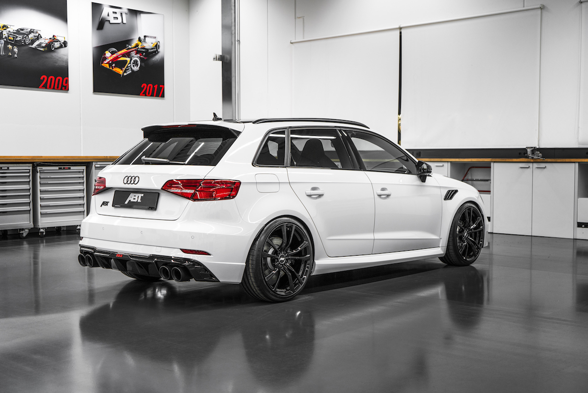 audi abt rs3 sportback limousine tuning upgrade performance improvement custom