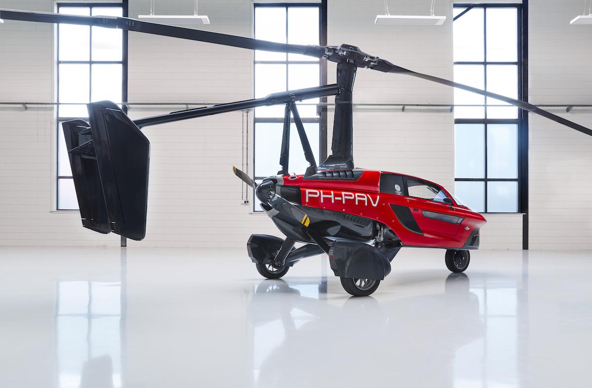 pal-v liberty flying car airshow united kingdom 2018 manufacturers aviation