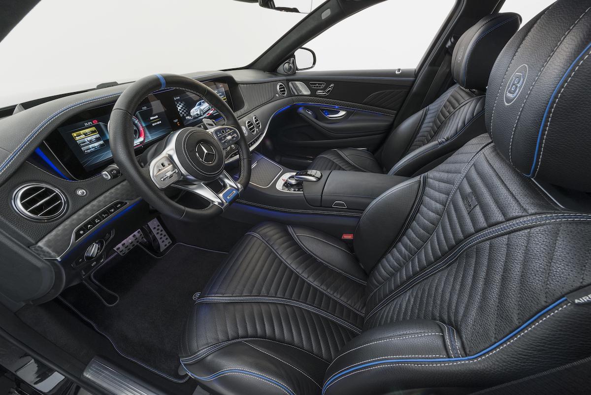 brabus mercedes-benz modelle limousinen luxuslimousinen allradantrieb luxus-limousinen modelle neuheiten 2018 mercedes s-klasse