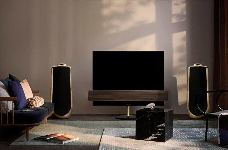 die edlen tv ger te und lautsprecher von bang olufsen. Black Bedroom Furniture Sets. Home Design Ideas