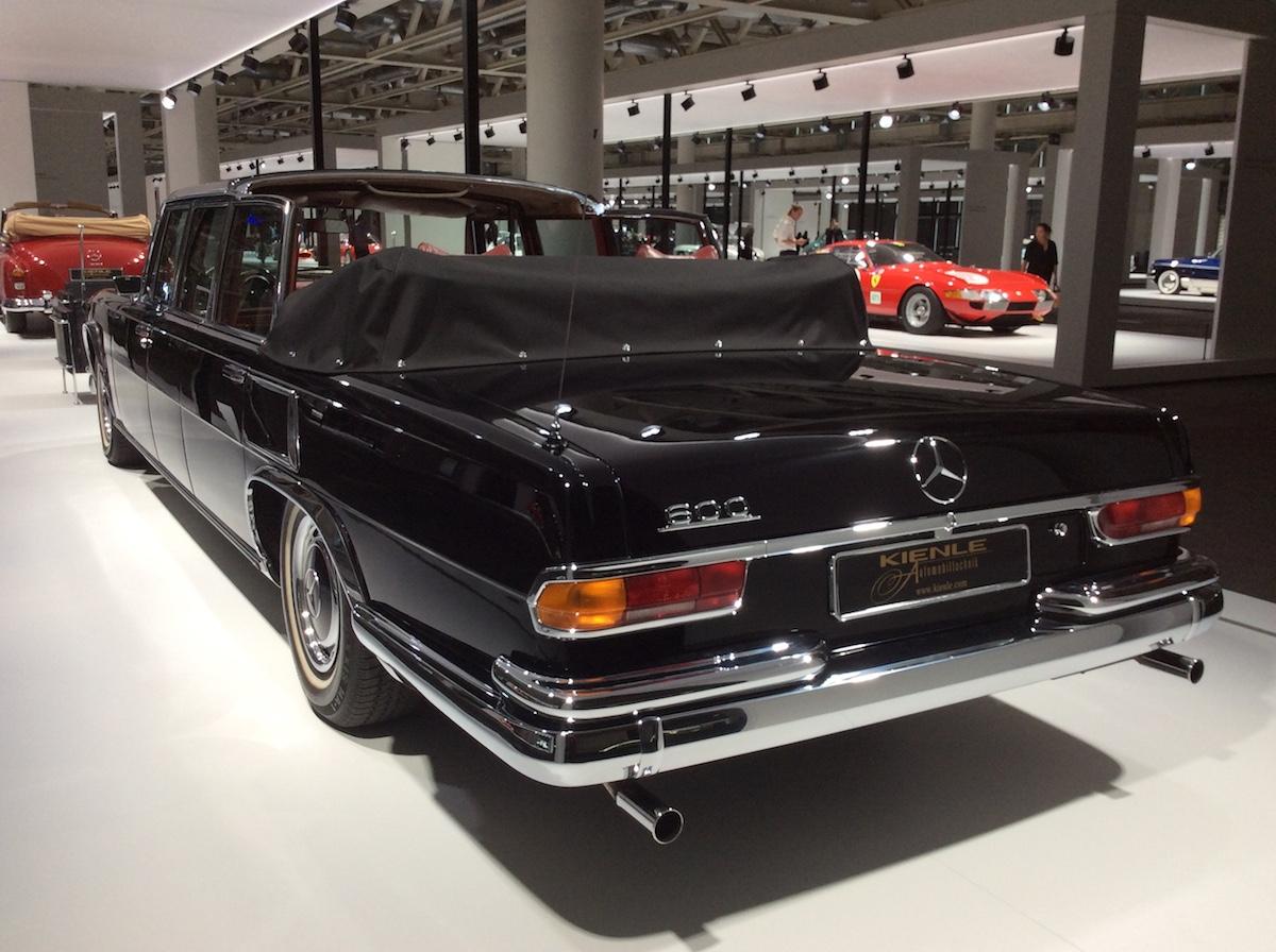 Mercedes-Benz 600 Pullman Landaulet Kienle Automobiltechnik