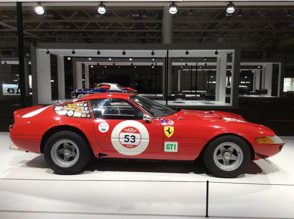 1971 Ferrari 365 GTB 4 Daytona Competizione