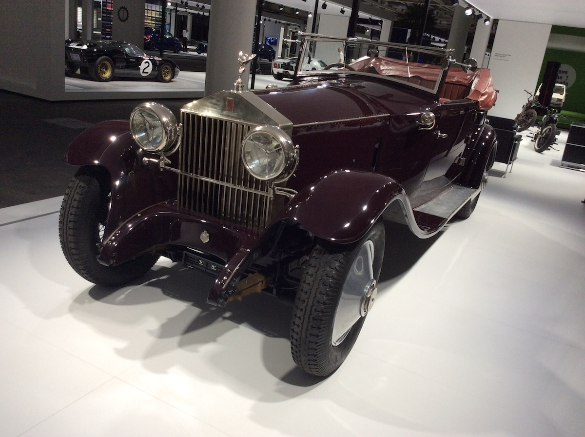 1925 Rolls Royce Phantom I Private Collection René Herzog