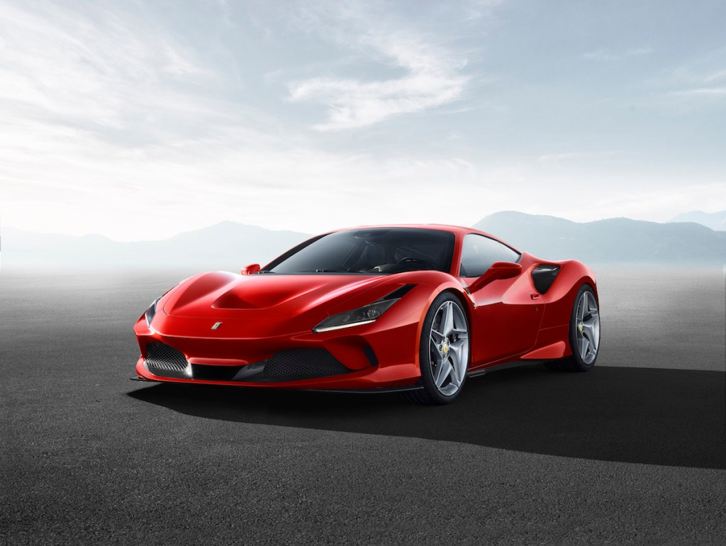ferrari f8 tributo new model unique turbo turbo-charged models