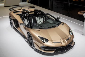 lamborghini aventador svj roadster new model models convertible open top geneva motor show 2019 highlights