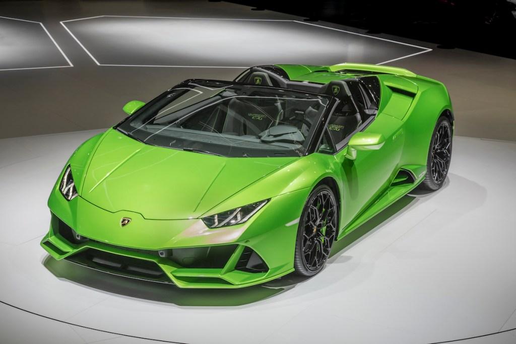 Lamborghini Huracan Evo Spyder Proudmag Com