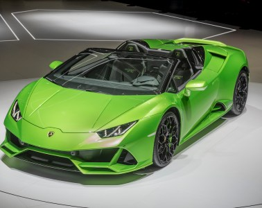 lamborghini-huracan-evo-spyder lamborghini huracan evo spyder convertible new models sports-cars geneva-motor-show-2019