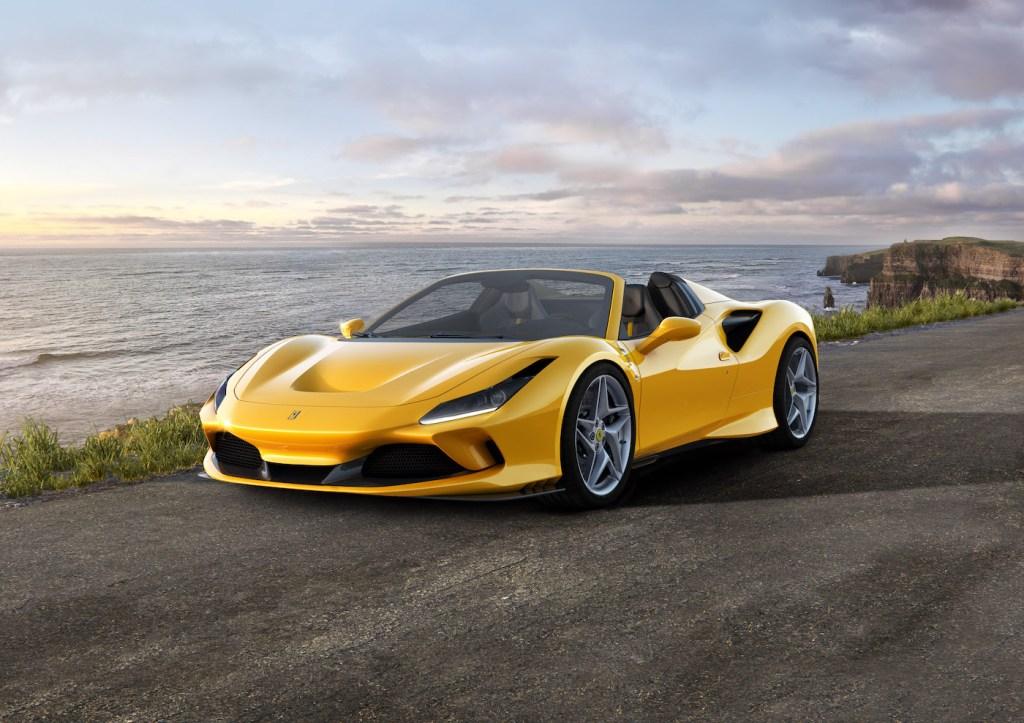 ferrari f8 spider tributo convertible sports car new model models 2019 berlinetta