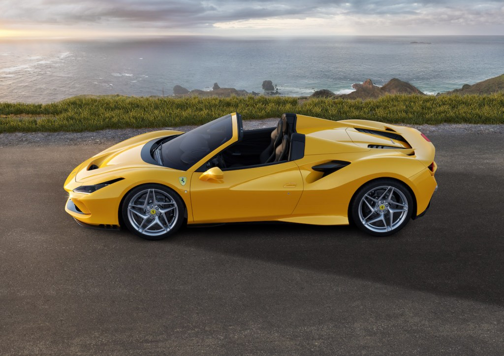 ferrari f8 spider tributo convertible sports car new model models 2019 turbo engine