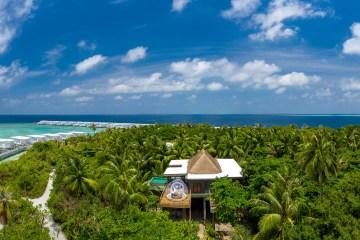 Amilla Fushi Bubble Sky House Ozean Strand