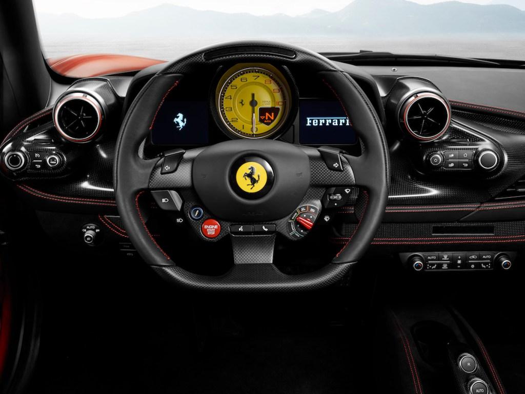 ferrari f8 tributo sportwagen modelle v8 2019 innenraum interieur