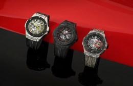 hublot big bang scuderia ferrari limited edition limitiert special edition chronograph chronographen luxusuhren herrenuhren