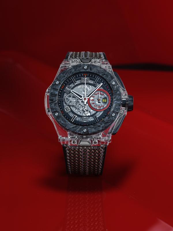 hublot big bang scuderia ferrari limited edition limitiert special edition chronograph chronographen luxusuhren herrenuhren motorsport