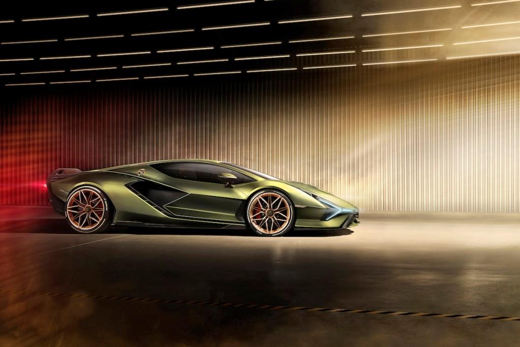 lamborghini sian limitiert neuheit sportwagen modelle iaa 2019 frankfurt v12