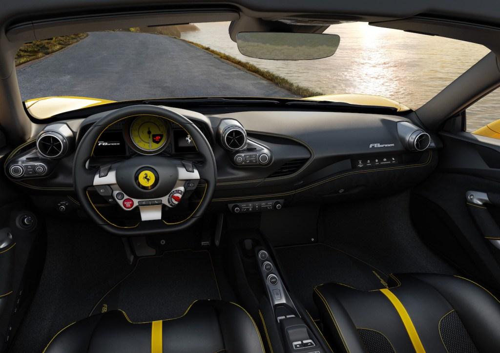 ferrari f8 spider cabriolet modelle neuheit neu v8 motor cockpit