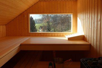 Ging Saunabau auch für draussen