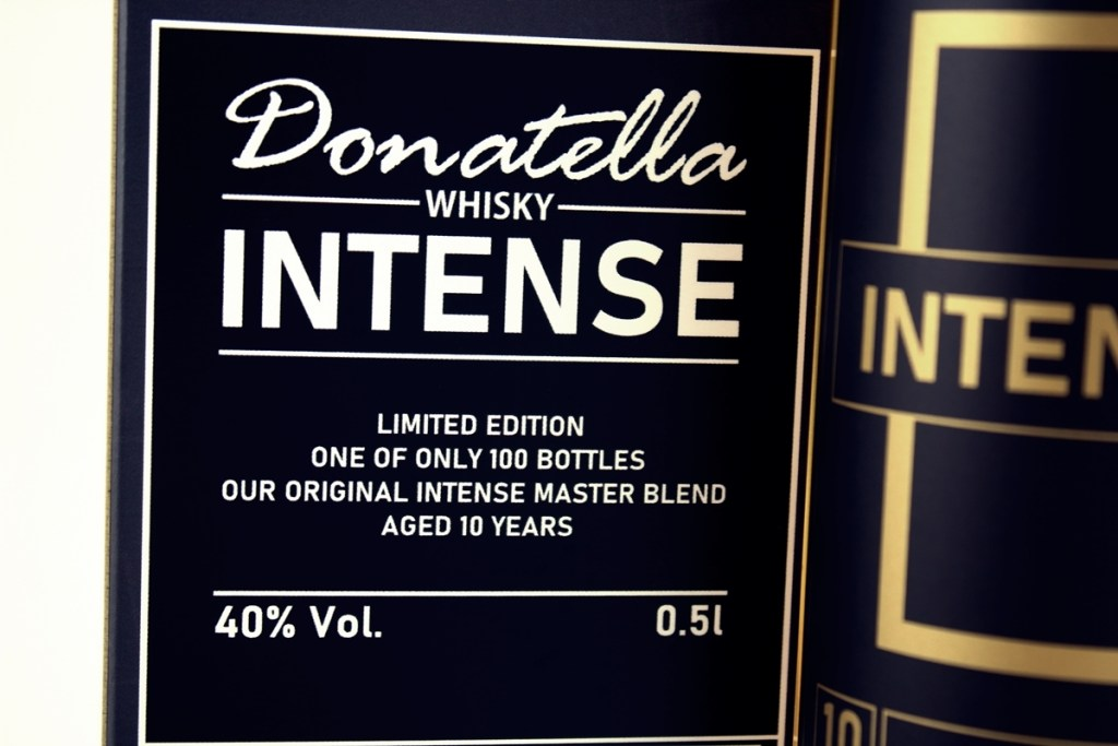 Donatella Whisky - Intense Edition