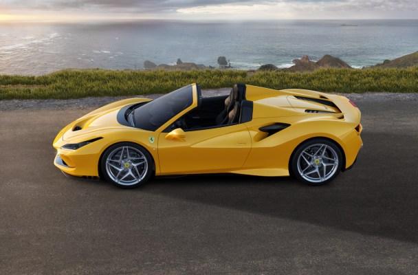 ferrari f8 spider tributo convertible sports car new model models 2019 v8 engine
