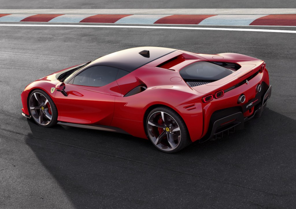ferrari sf90 stradale hybrid v8 turbo new models