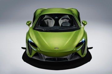 mclaren artura new hybrid supercar