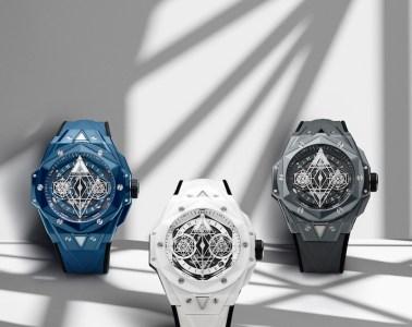 hublot big bang sang bleu uhren modelle luxusuhren neuheiten 2021