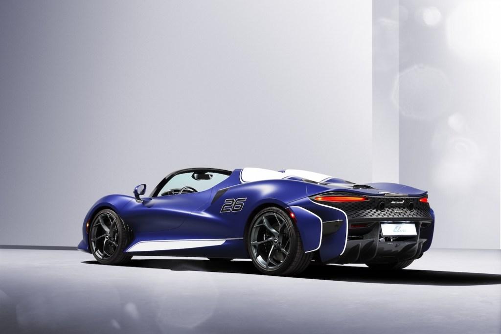 mclaren elva roadster screenless windshield limited edition 2021 models exclusive