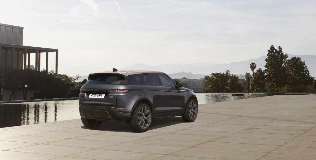 range rover evoque bronze collection sondermodelle modelle farben suv