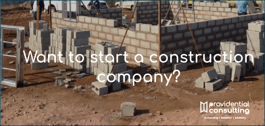 Starting a construction company in South Africa