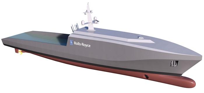 Barco autônomo da Rolls-Royce pode ser o futuro das patrulhas marítimas