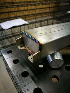 Viriname neūdijantį plieną, aliumini, paprasta anglini plieną. Suvirinimo paslaugos