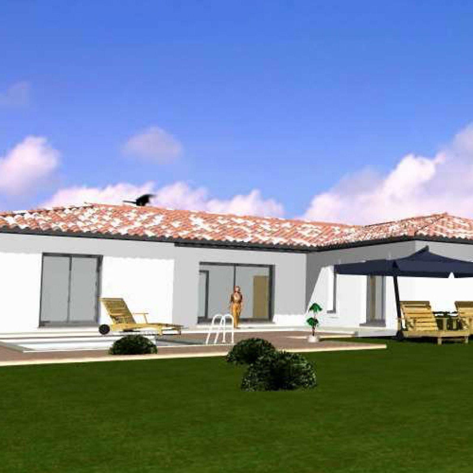 Maison Contemporaine De Plain Pied Provence Maisons
