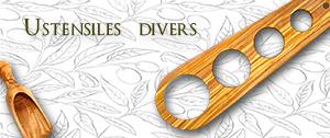Ustensiles divers