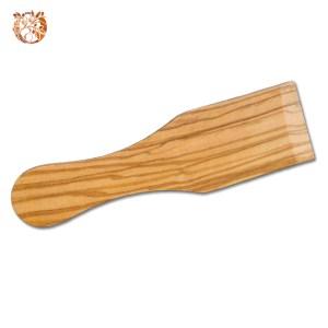 Spatule à raclette en bois d'olivier