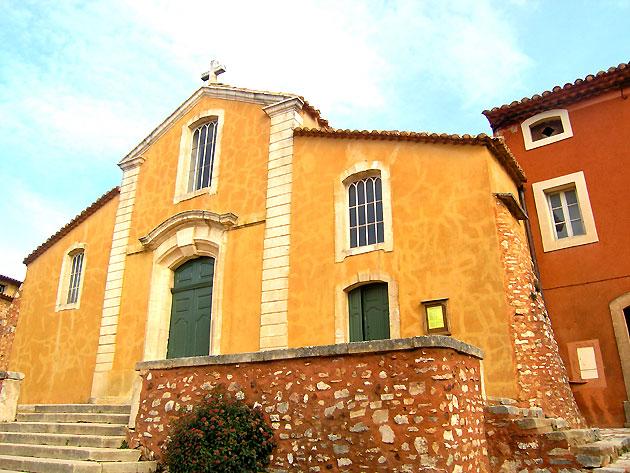 Photo Eglise Du Village De Roussillon