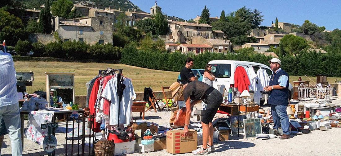 Flea markets in provence provence days - Vide grenier salon de provence ...