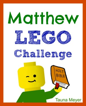 Kids learn the Matthew while playing with Legos!