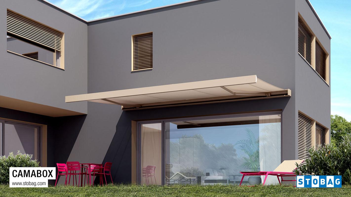La funzionalità delle tende a rullo è quella di fare da schermo alla luce solare e in base al tessuto che viene scelto, può anche limitare il calore del. Tende Per Esterno Ispra Proverbio Outdoor Design