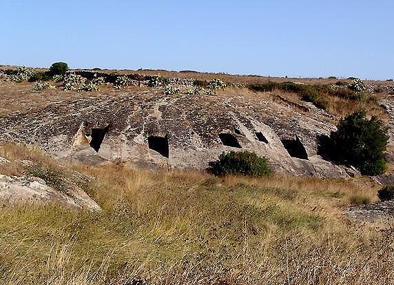 La necropoli di Genna Salixi
