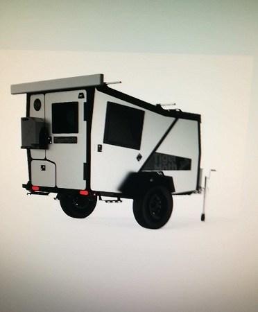 Carrello camper 4×4