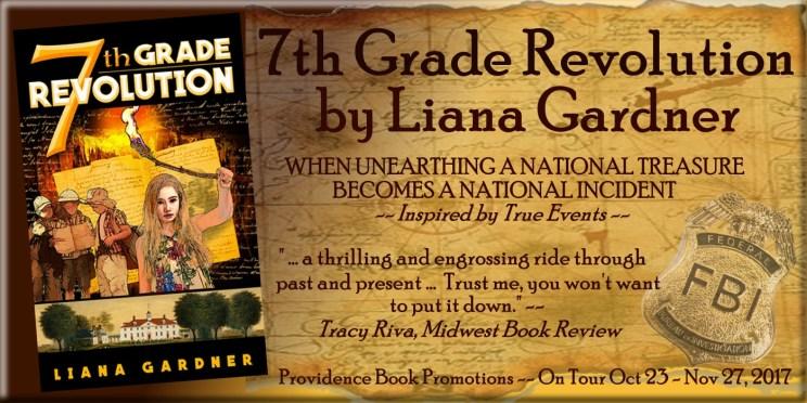 7th Grade Revolution by Liana Gardner Banner