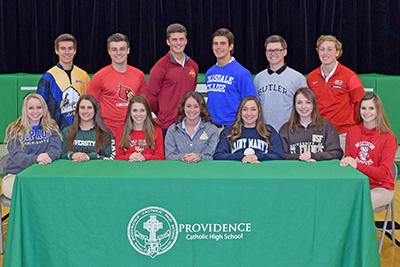 College Commitments - November 2016