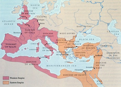 Roman Empire - East & West