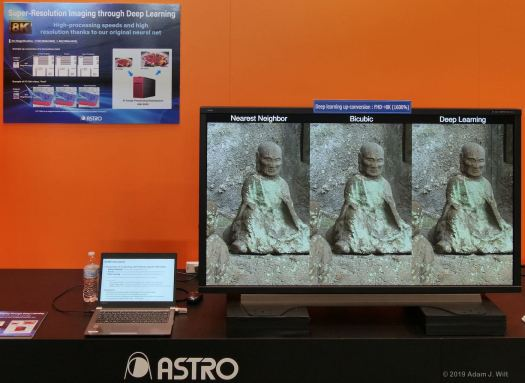 Upscaling HD to 8K at Astrodesign