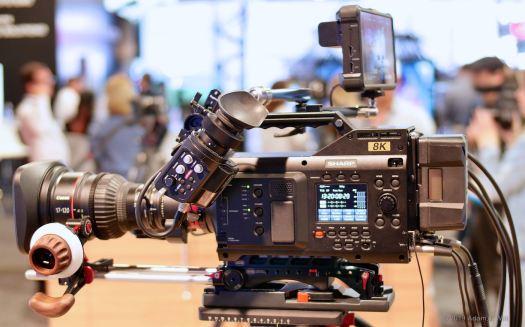 Sharp 8K camcorder