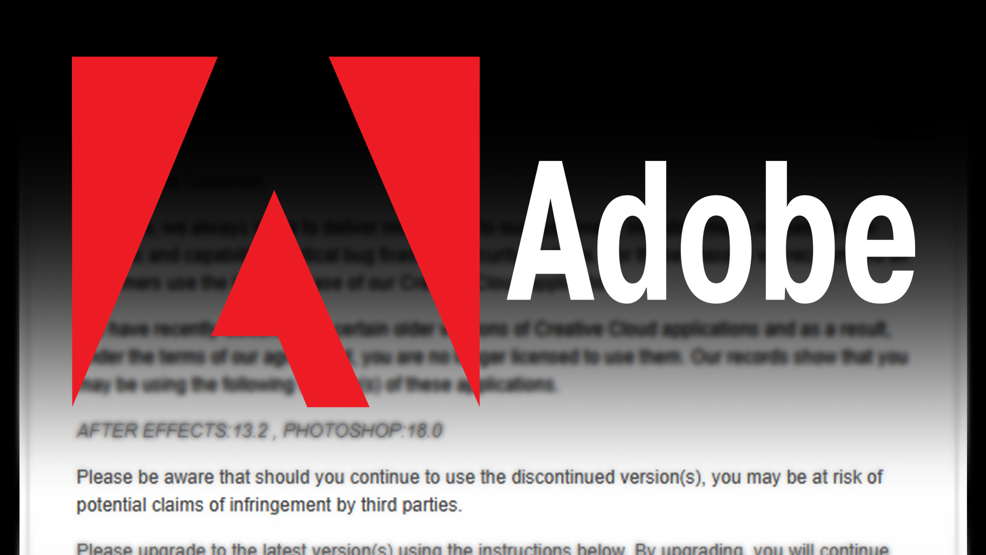 Adobe Tightens The Leash – Photography